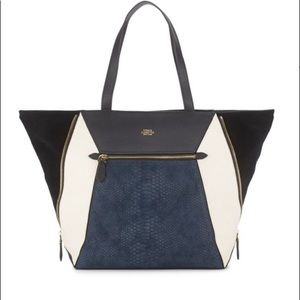 Vince Camuto Julio Color Block Leather Tote Bag
